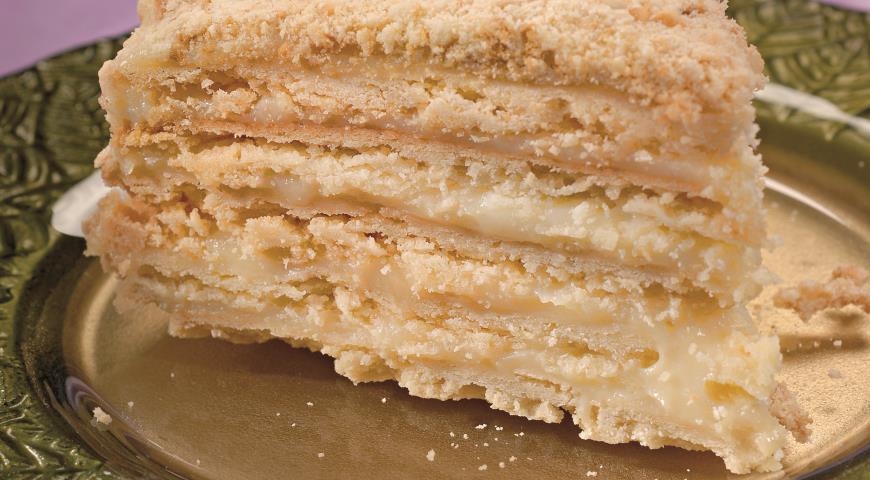 Торт Наполеон со сгущенкой пошаговый рецепт (13 фото) 81