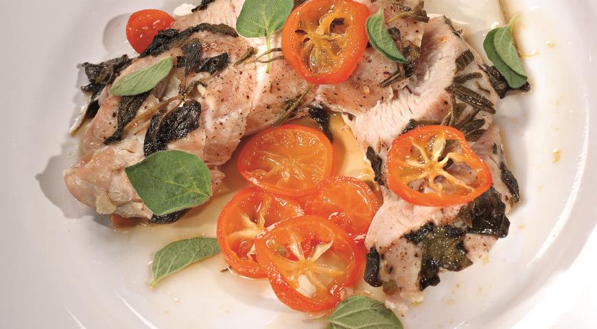 Рецепт Филе индейки с соусом из кумкватов