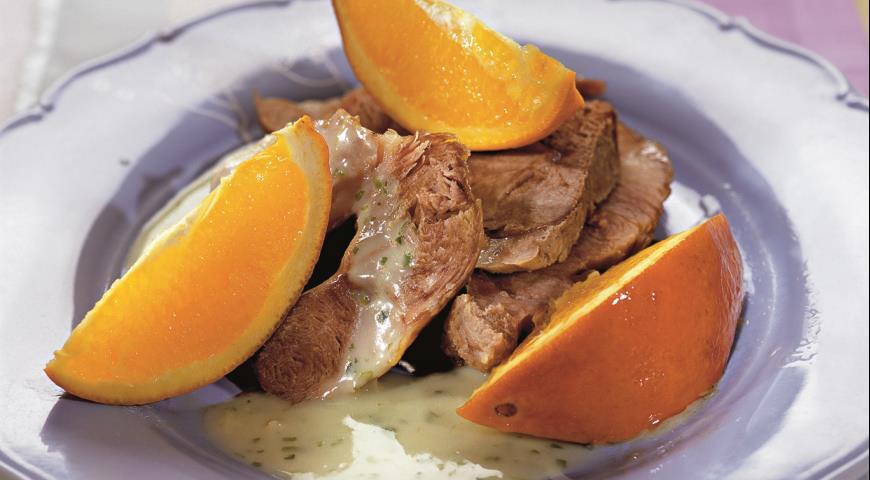 Рецепт Свинина в яблочном соусе