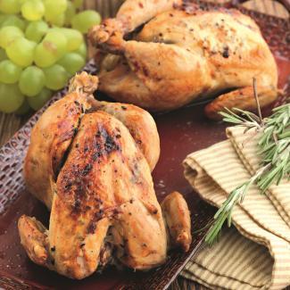 Рецепт Запеченные с маслом цыплята