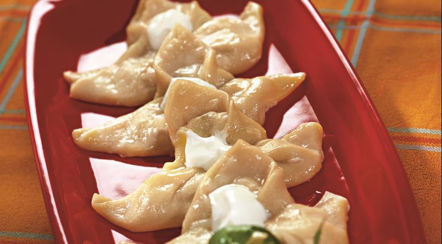 Рецепт Равиоли с начинкой из сыра и грибов