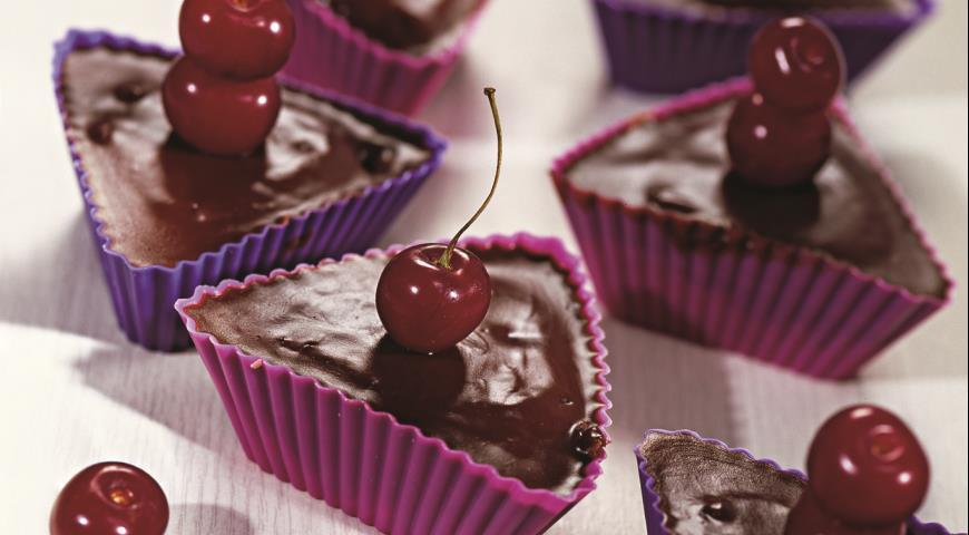 Рецепт Вишнево-шоколадные кексы