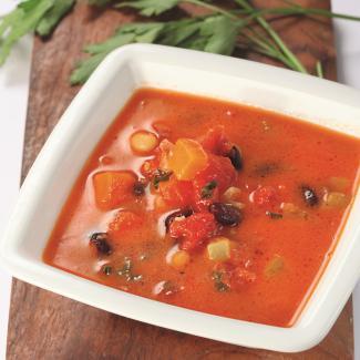 Рецепт Густой суп из фасоли c пармезаном