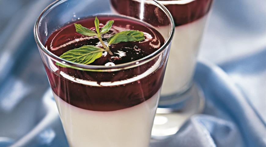 Рецепт Ягодно-йогуртовое желе
