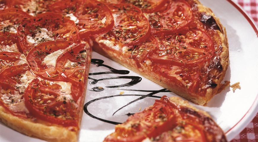 Рецепт Пирог с сыром и томатами