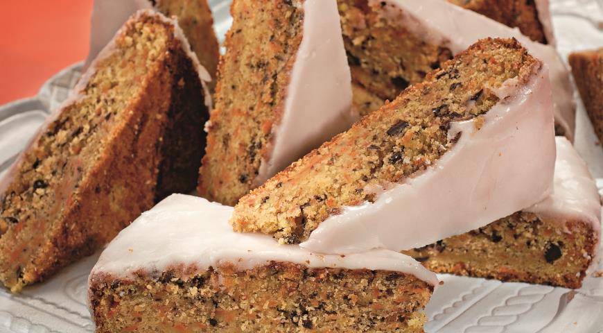 Рецепт Морковный пирог с миндалем