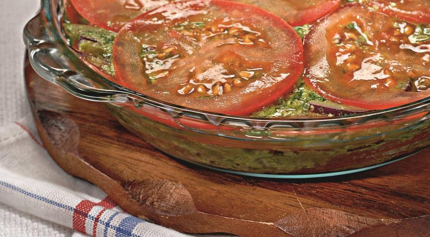 Рецепт Салат из помидоров с песто