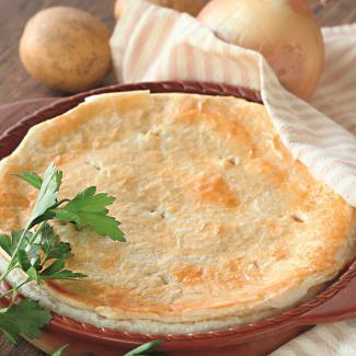Рецепт Самый простой картофельный пирог