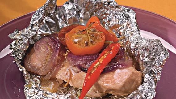 Грудинка в фольге в духовке рецепт пошагово