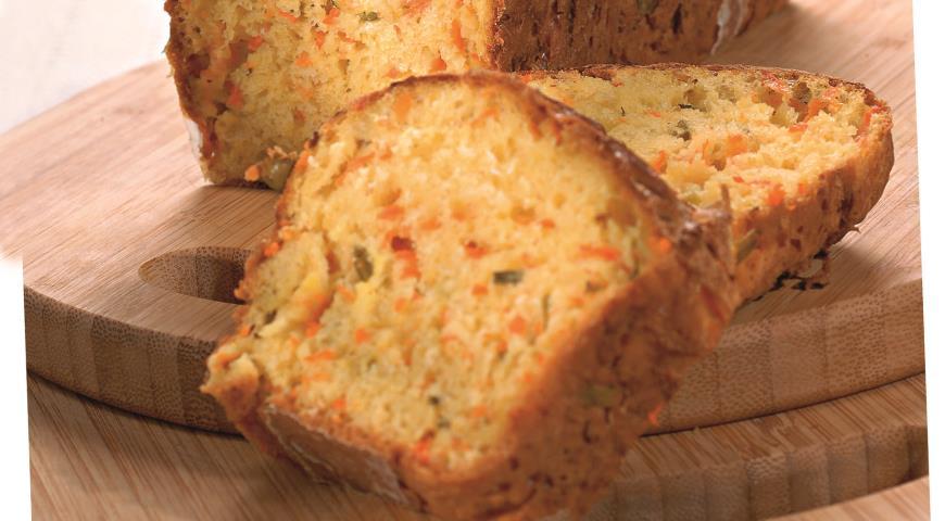 Рецепт Хлеб с тыквой и зеленым луком