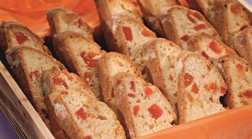 Рецепт Бискотти с орехами