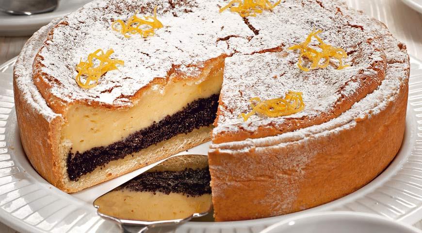 Рецепт Лимонно-сырный пирог