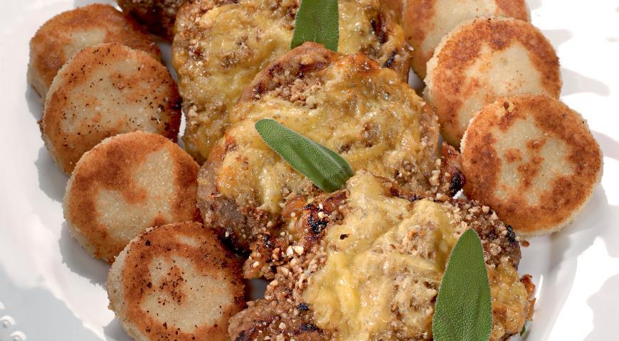 Рецепт Шейка с картофельными крокетами