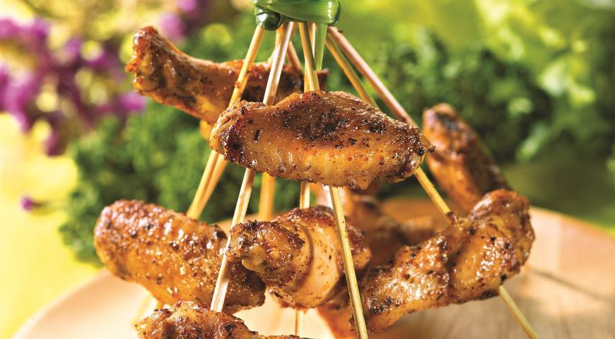 Рецепт Крылышки куриные маринованные