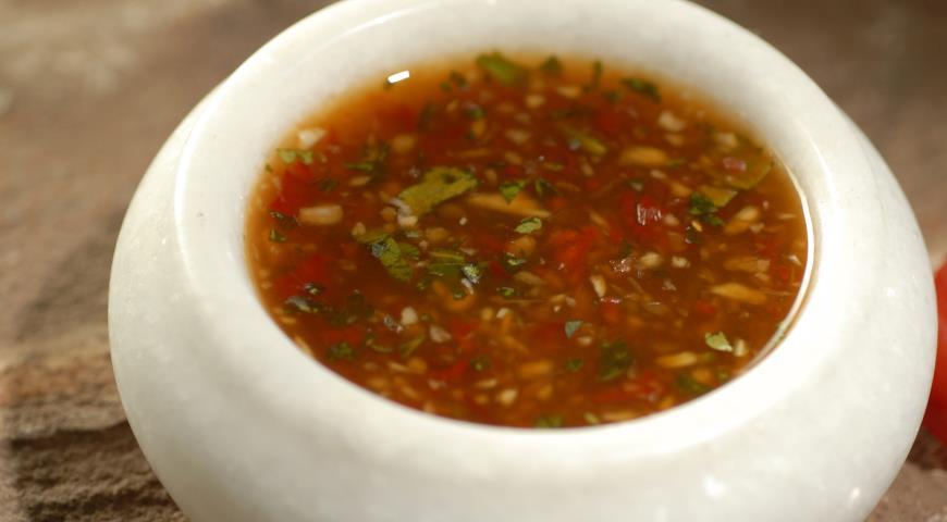 Рецепт Домашний соус чили