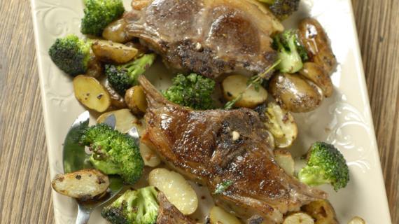 Ребрышки с картошкой пошаговый рецепт с