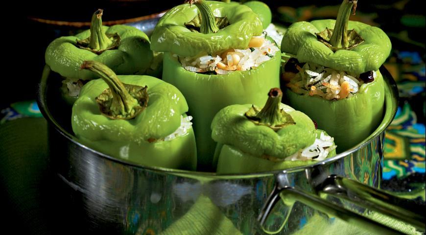 Рецепт Турецкая долма из зеленого перца