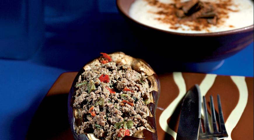 Рецепт Кавказская толма из баклажанов