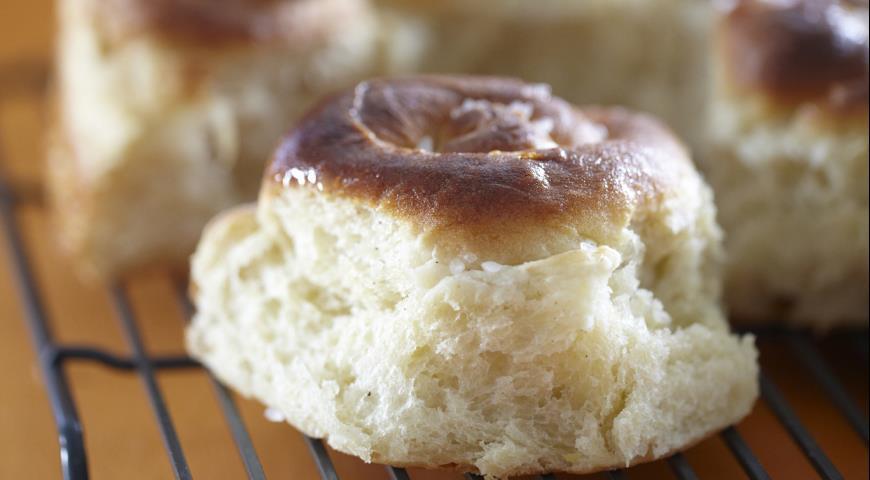 Картофельный завитой хлеб