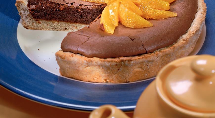 Рецепт Шоколадный пирог с апельсином