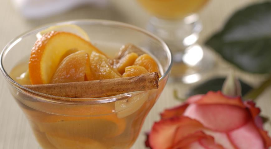 Рецепт Десерт Пьяные фрукты