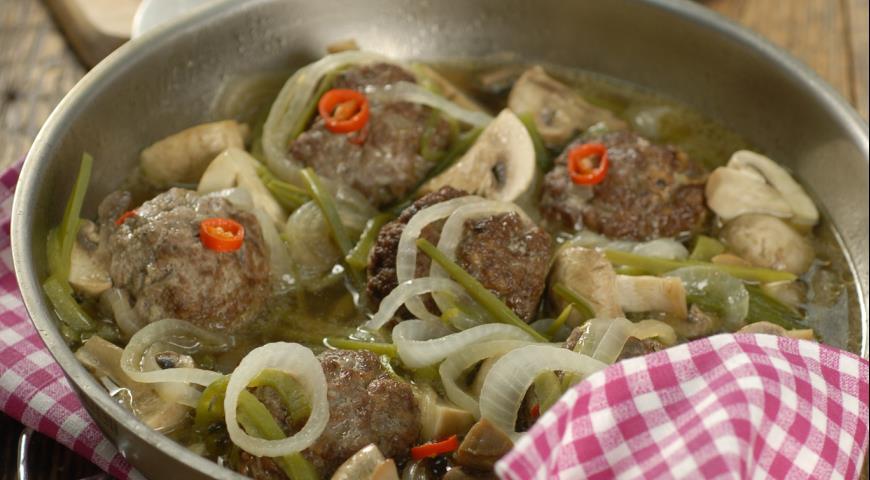 Рецепт Котлеты с грибами и луком