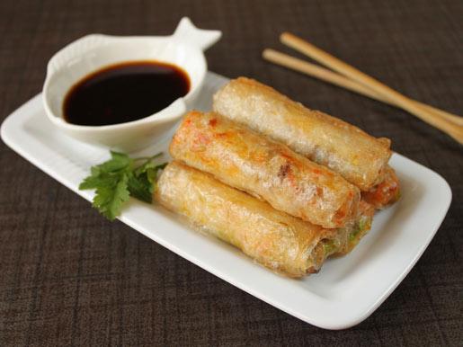 Рецепт Спринг-роллы со свининой и креветками