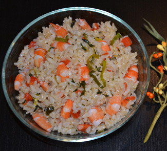 Рецепт Паэлья с креветками