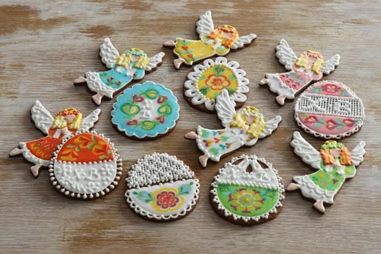 Имбирное печенье к Пасхе
