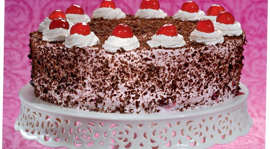 Рецепт Шварцвальдский торт
