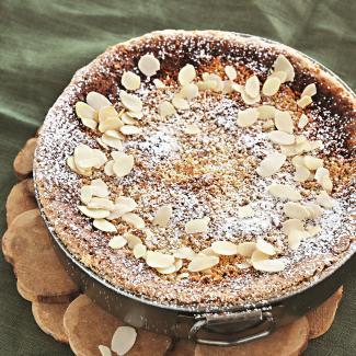 Рецепт Миндальный пирог