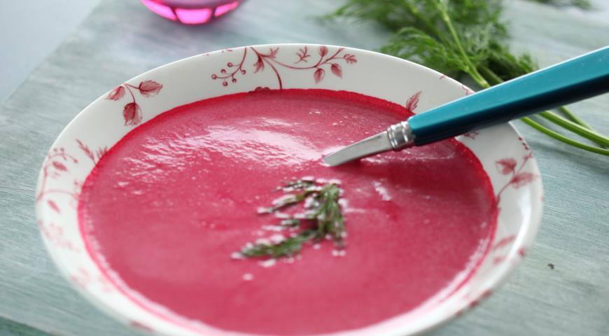 Рецепт Суп-пюре из свеклы