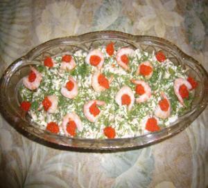 Салат морское наслаждение рецепт с