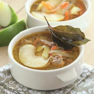 суп из индоутки рецепт с фото
