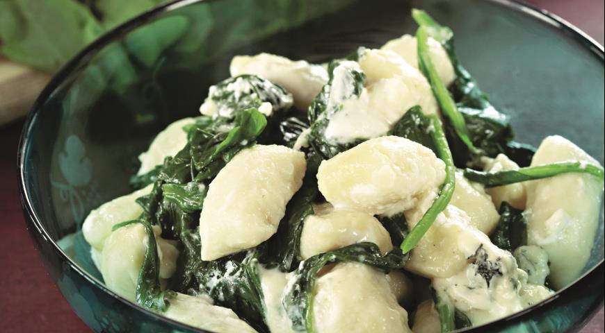 Рецепт Ньокки с голубым сыром