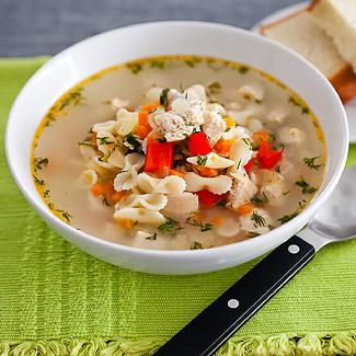 Рецепт Куриный суп с лимоном в мультиварке