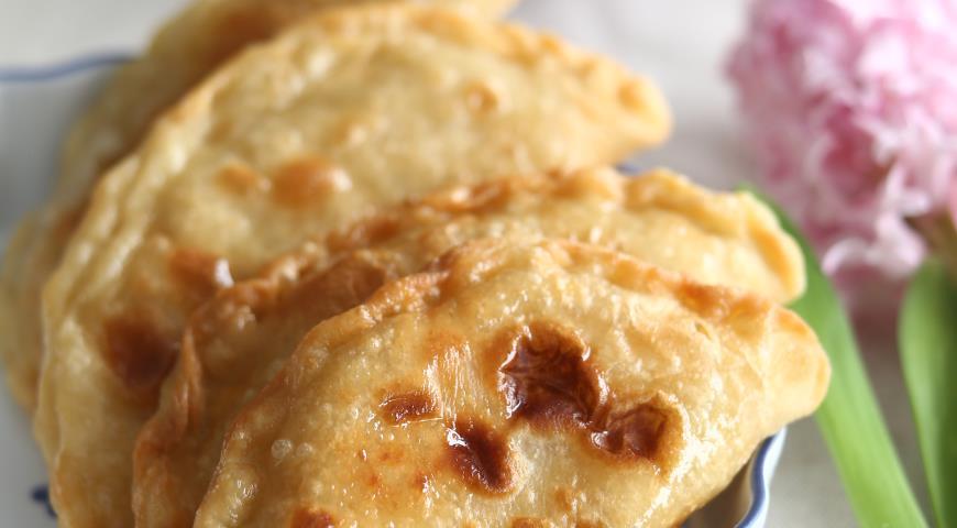 Рецепт Азиатские пирожки с курицей