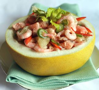 Рецепт Севиче из креветок и лосося
