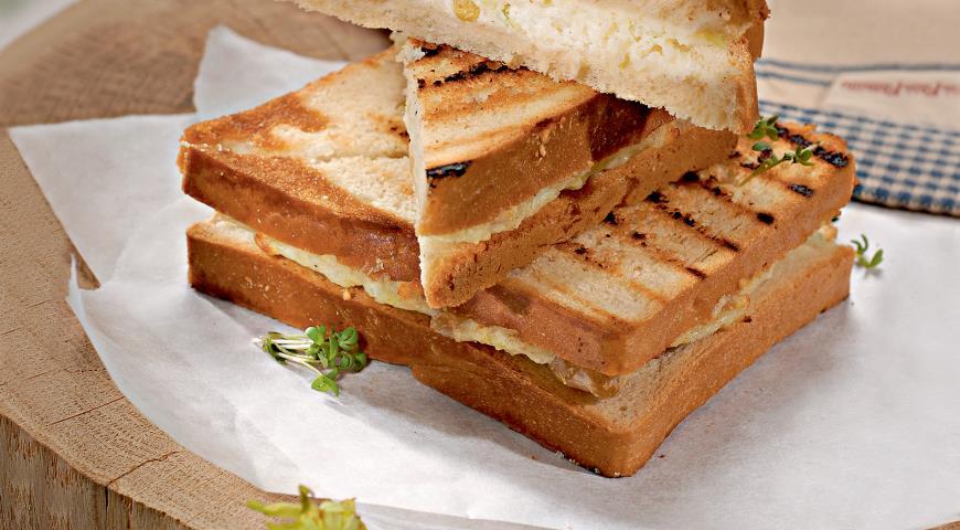 Рецепт Сырные сэндвичи
