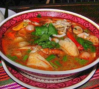 Рецепт Суп Том-Ям