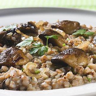 Рецепт Гречневое ризотто с грибами