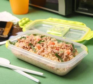 Рецепт Кускус с тунцом и помидорами