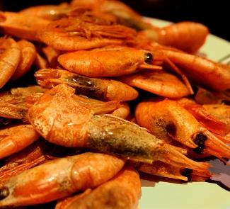 Рецепт Быстрая горяче-пикантная Креветка в корочке из специй
