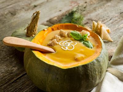 Рецепт Тыквенный суп с сельдереем
