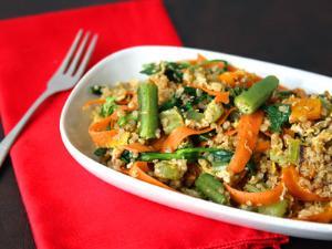 Вегетарианское рагу, пошаговый рецепт с фото
