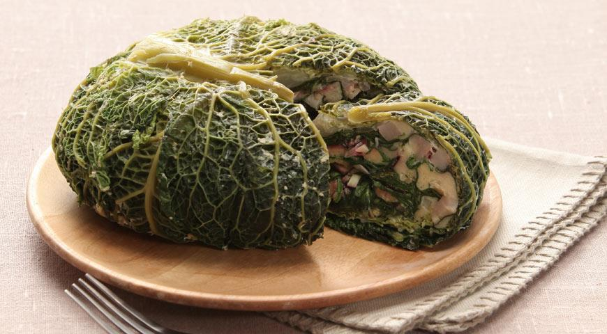 что приготовить с капусты савойской капусты