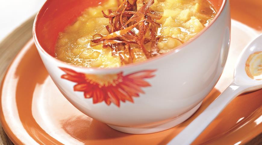 Рецепт Суп из пастернака с яблоками