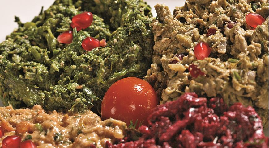 Рецепт Пхали из овощей