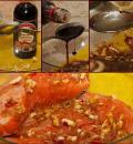 Стейк семги-гриль в имбирно-соевом маринаде. Шаг 2