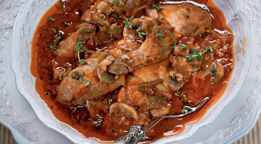 Рецепт Цыпленок качьятора